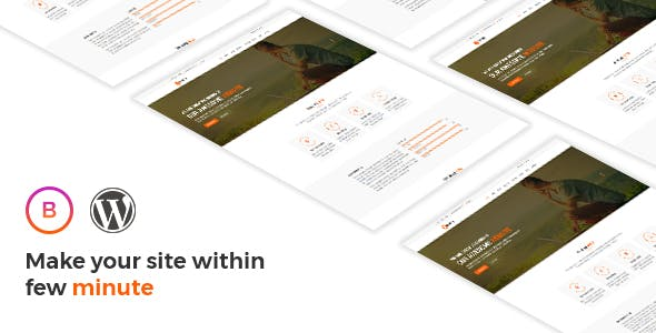 Bravery - Creative  One & Multipurpose WordPress Theme