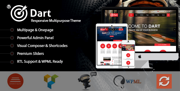 Dart - The Advanced WordPress Business Theme - Business Corporate