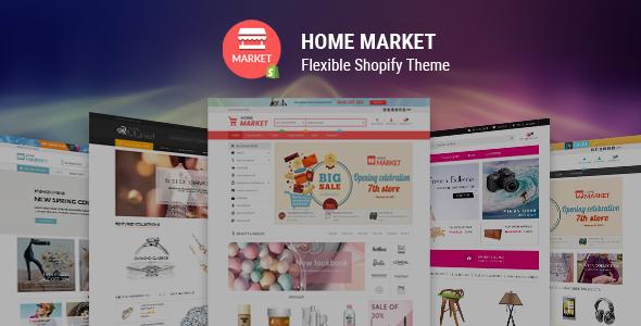 Home Market - Flexible Shopify Theme - Shopping Shopify