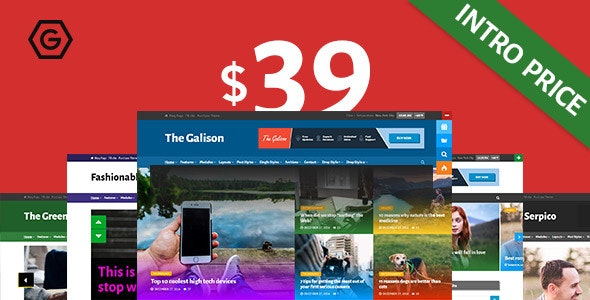 The Galison - Multi-Concept News and Magazine Theme - News / Editorial Blog / Magazine
