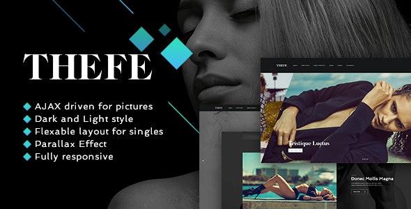 Thefe - Portfolio WordPress Theme - Portfolio Creative
