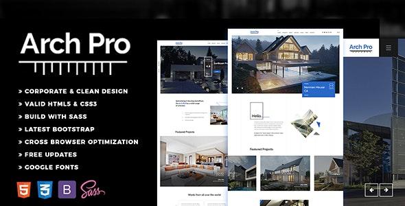 Arch Pro - Architecture - Business Corporate