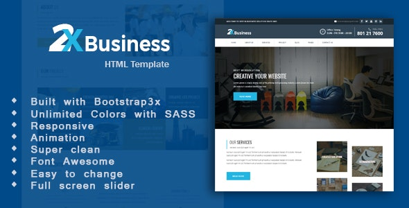 Paglo- Corporate Business Template - Business Corporate