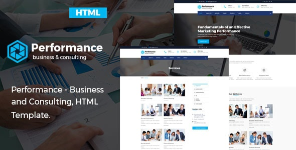 Performance - Consulting & Business HTML Template - Business Corporate