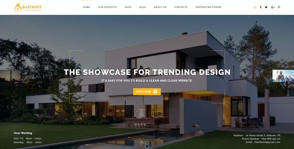 BeStruct - Construction & WooCommerce WordPress Theme