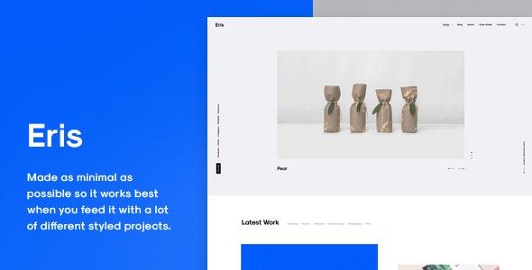 Eris - Portfolio WordPress Theme - Portfolio Creative