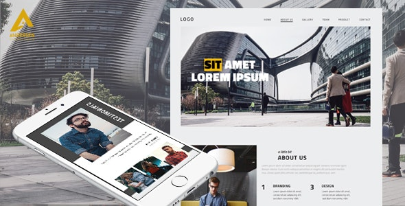 Andersen - Multipurpose business template, HTML+PSD - Business Corporate
