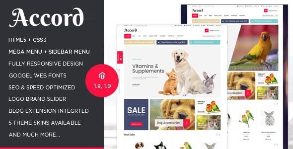 Accord - Pet Store Responsive Magento Theme - Shopping Magento