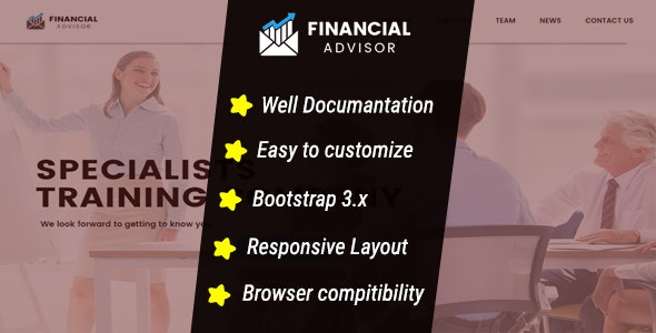 Finance And Business HTML5 Template - Corporate Site Templates