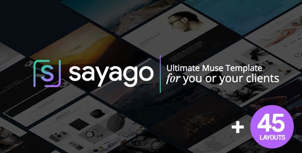 Sayago - Ultimate Muse Template - Creative Muse Templates
