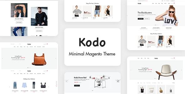 Kodo - Minimal Magento 2 Theme - Fashion Magento