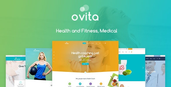 Ovitahealth - Multipurpose WordPress Theme - Retail WordPress