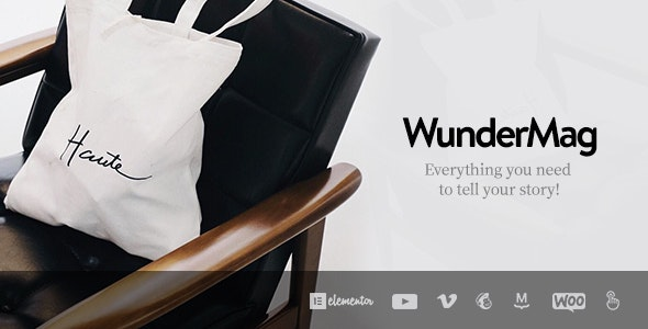 WunderMag - A WordPress Blog / Magazine Theme - Blog / Magazine WordPress