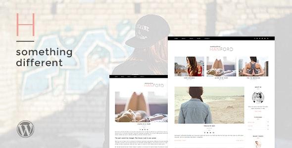 Hanford - Personal & Clean WordPress Blog Theme - Personal Blog / Magazine