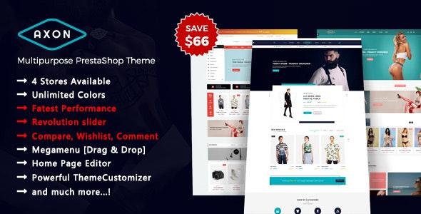 Axon - Multipurpose Responsive Prestashop 1.7 Theme - PrestaShop eCommerce