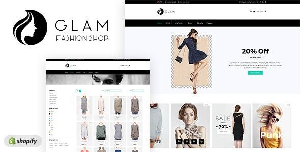 Glam - Minimal Shopify Theme - Fashion Shopify