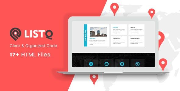 ListQ - Directory & Listing - HTML Template