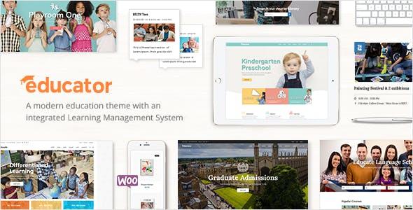 Educator - Education Theme for University & School
