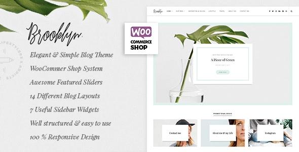 Bklyn - WordPress Blog Theme - Personal Blog / Magazine