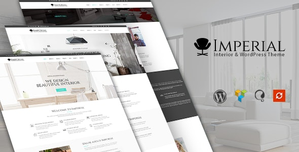 Imperial - Interior WordPress Theme - Business Corporate