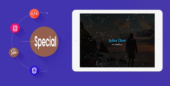 Special- Personal Portfolio Template - Personal Site Templates