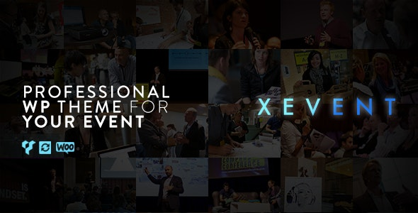 XEvent - Event & Conference WordPress Theme - Events Entertainment