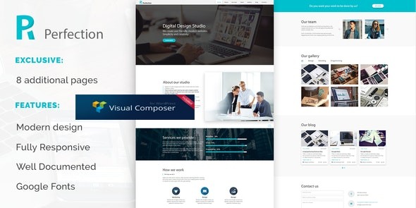 Perfection - Business Multipurpose WordPress Theme - Business Corporate