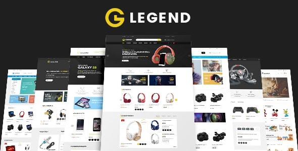 Legend - Electronics & Toy Shop eCommerce HTML Template - Shopping Retail
