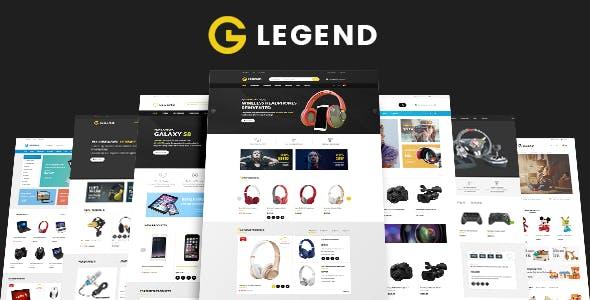 Legend - Electronics & Toy Shop eCommerce HTML Template