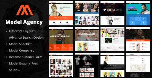 Models - Fashion Agency WordPress Theme - Business Corporate