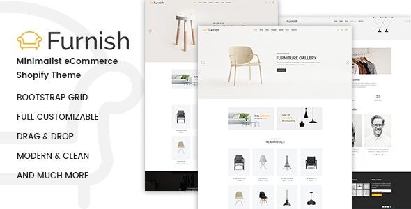 Furnish - Minimal Furniture Shopify Theme - Shopping Shopify