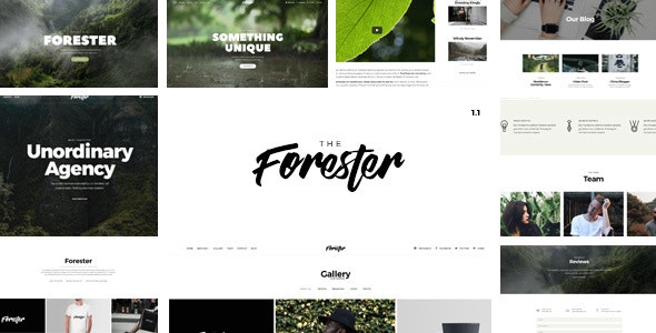 The Forester - Responsive Multipages and Onepage Multi-Purpose Joomla! Template - Joomla CMS Themes