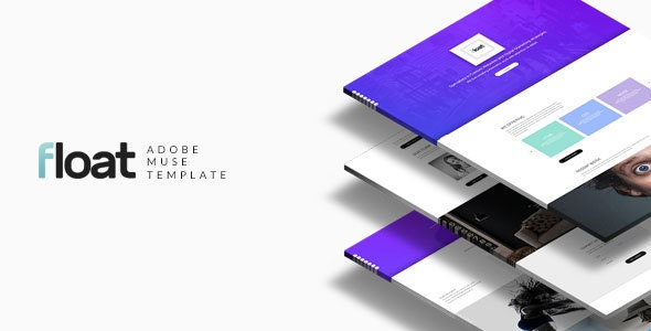 Float - Multipurpose Muse template - Creative Muse Templates