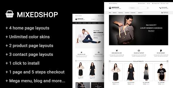 Mixedshop - Multipurpose Prestashop Theme - PrestaShop eCommerce