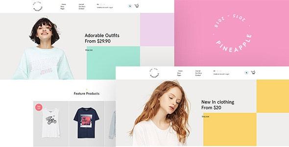 Pineapple - Fashion WooCommerce WordPress Theme - WooCommerce eCommerce