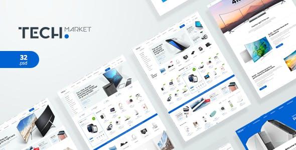 TechMarket - Ultimate Shopify Template
