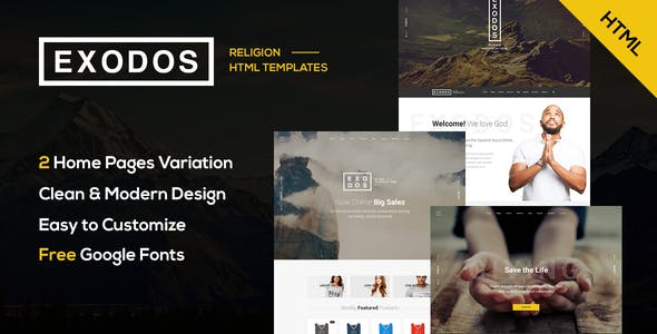Exodos - Church HTML Template