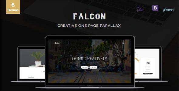 Falcon - Creative One Page Parallax