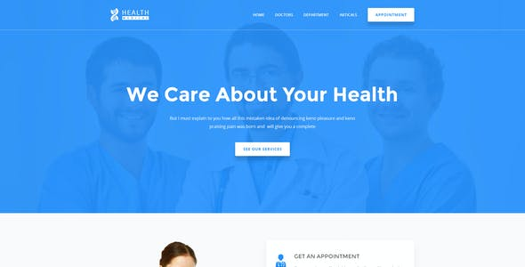 Health Care - Medical & Doctor HTML5 Template