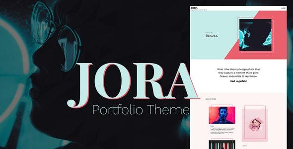 Jora – an Exquisite Portfolio WordPress Theme - Portfolio Creative