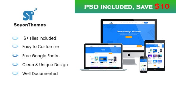SoyonThemes - Digital Products Marketplace E-Commerce HTML5 Template - Marketing Corporate