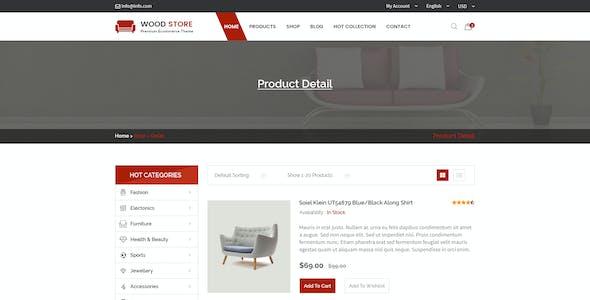 Wood - Furniture Store & Interior Design Template