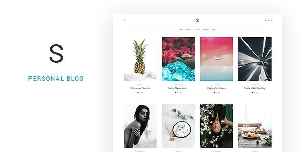 Soul - Minimalist Responsive Blogging HTML5 Template - Personal Site Templates