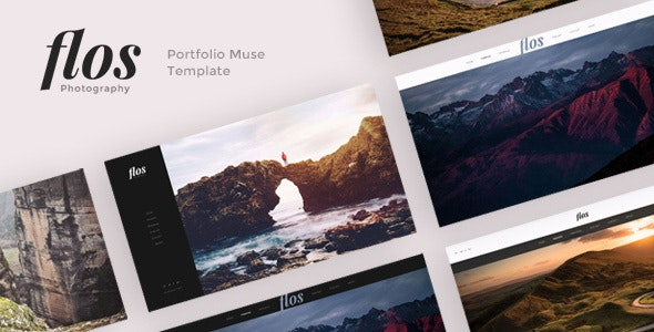 Flos - Portfolio Muse Template - Creative Muse Templates