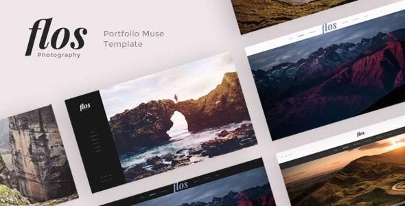 Flos - Portfolio Muse Template - Creative Muse Templates
