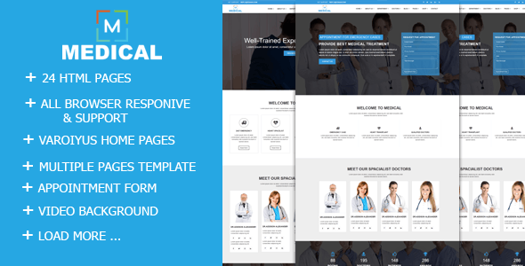 Dmax Medical - Health ,  Medical Care and Medical Shop - Corporate Site Templates