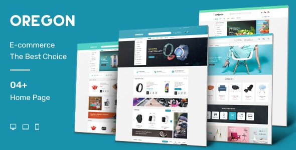 Oregon - Multipurpose Shopify Theme (Sectioned) - Electronics, Digital, Organics, Kitchen, Furniture - Shopping Shopify