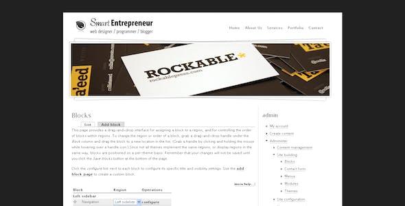Smart Entrepreneur Drupal 6 Template