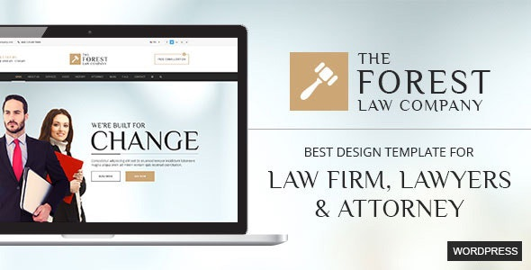 The Forest Law WordPress Theme - Business Corporate