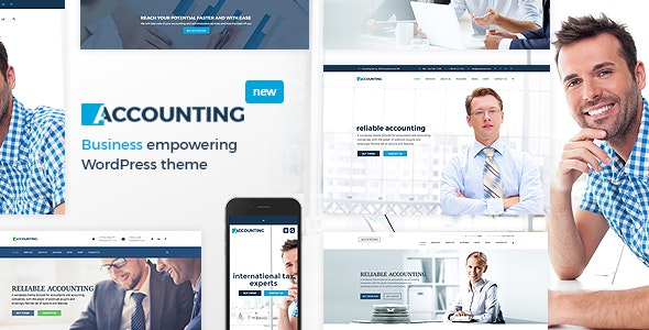 Accounting - Business, Consulting and Finance WordPress theme - Business Corporate